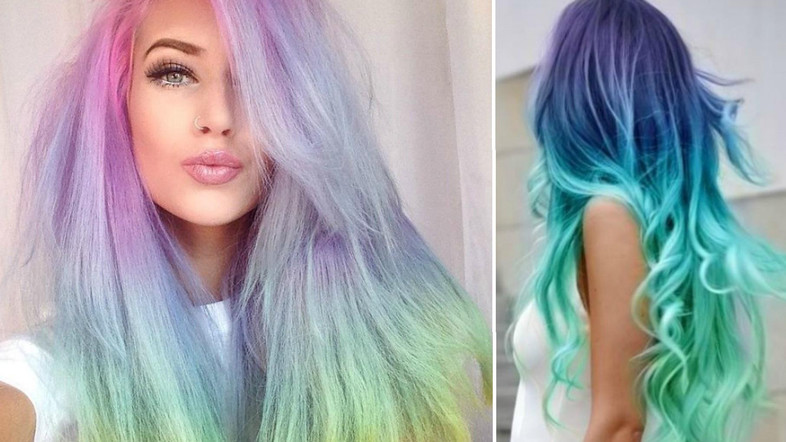 Salon Collage Hair And Beauty Salon Rainbow Hair