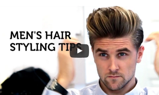 Men Hair Styling Simple Salon Collage  Hair And Beauty Salon  Men's Hair Styling Tips .
