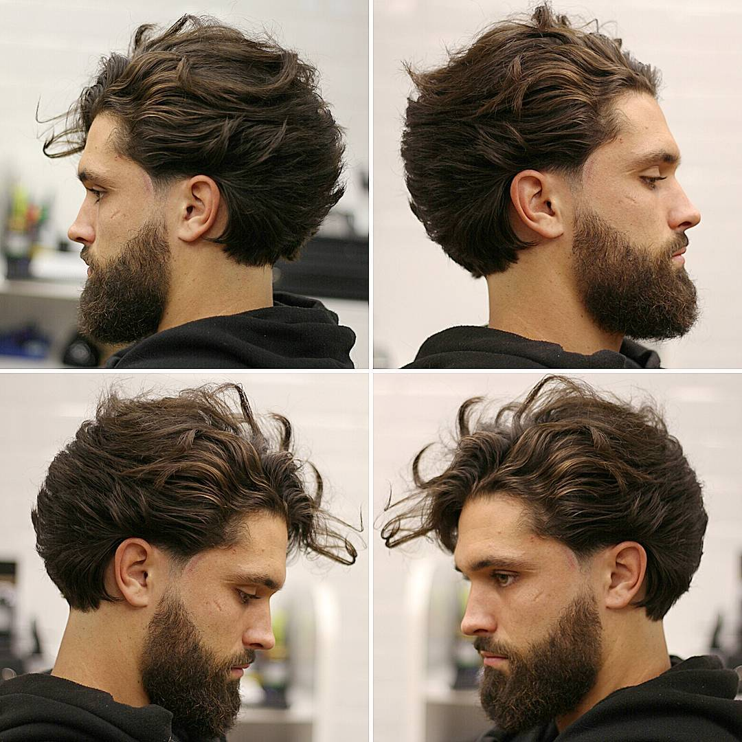 salon collage - hair and beauty salon | the best haircuts for men