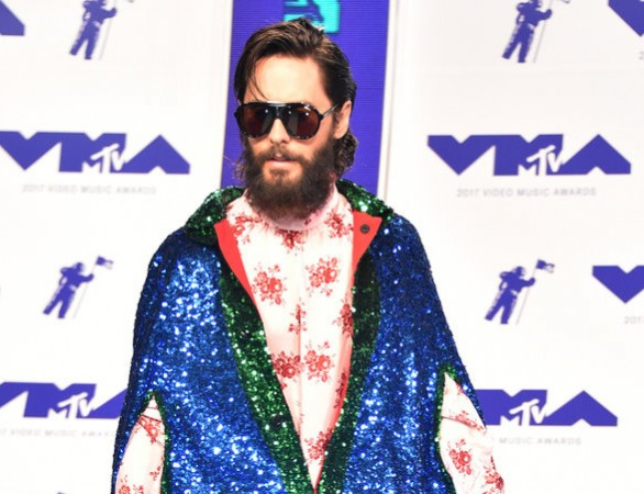 INGLEWOOD, CA - AUGUST 27: Jared Leto of Thirty Seconds to Mars attends the 2017 MTV Video Music Awards at The Forum on August 27, 2017 in Inglewood, California.  (Photo by Frazer Harrison/Getty Images)